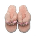 the comfy women cute fur indoor slides slippers