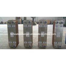 Intercambiador de calor de placas soldadas para aire acondicionado