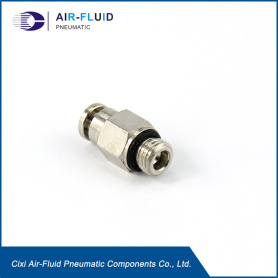 Air-Fluid Push in Fittings Lube Adapter Male Straight.