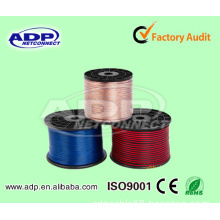 Made in China Hangzhou High Quality Bulk Speaker Cable Red Black Speaker Cable Nordost Speaker Cable