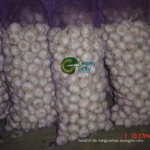 Frische neue Ernte chinesischen reinen weißen Knoblauch