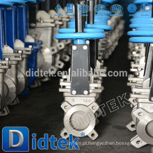 Didtek Wafer Tipo Stainless Steel Knife Gate Valve