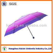 Nice Stripe Pongee Fabric Umbrella