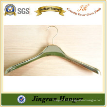 Customizable Metal Hook Plastic Plating Clothes Man Hanger