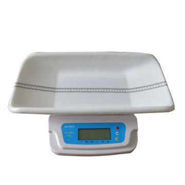 Escala do bebê de 20kg Digitas, escala infantil digital