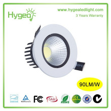 Dimmable High CRI 7W Plafonnier encastré Downlight LED