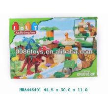 62pcs dinosaurier block