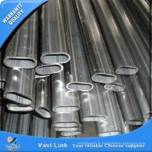 ASTM 310S Sainless Steel Oval Tube pour Décoration
