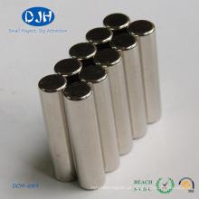 Diâmetro do ímã 6 * Espessura 25 mm Magnetização axial (através da espessura)