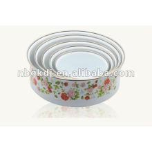 эмаль чаша для хранения с крышкой PP