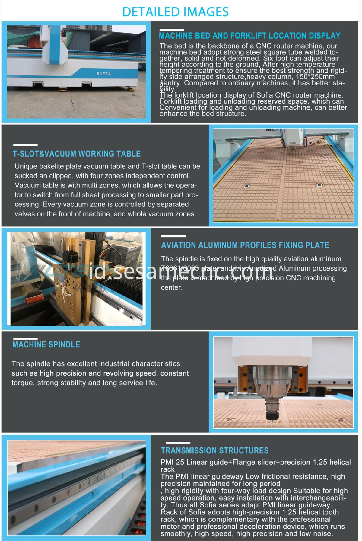 Cnc Wood Router 3axis