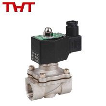 24v 12v tensão CC normalmente fechada válvula de solenóide de baixo preço