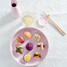 जापानी सिरेमिक Tableware होटल रेस्तरां मिट्टी के बरतन रकाबियों चमचों इत्यादि