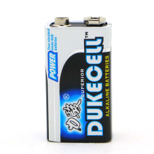 Щелочная батарея 9В 1/С сухие батареи