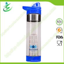 650ml Kundengebundene neue Frucht-Infusions-Flasche BPA freier Infuser