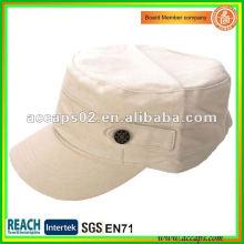 Casquillo militar en blanco del estilo en la ropa Shenzhen MC-1294