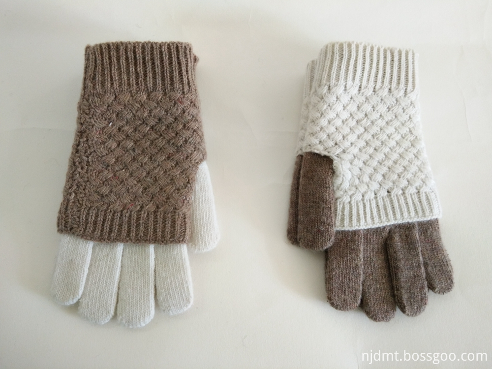 Color Matching Warm Gloves