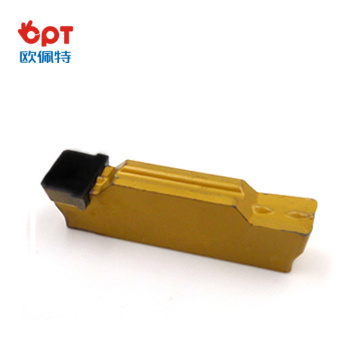 High precision diamond grooving insert piston grooving tools