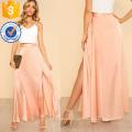 Высокий разрез спереди качели юбки Производство Оптовая продажа женской одежды (TA3093S)
