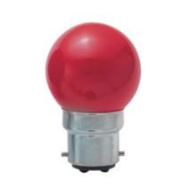 Lampadina ad incandescenza con rivestimento a colori G40 B22D