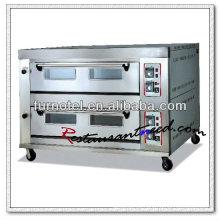 K181 Dos capas comerciales Heavy Duty Pizza Oven