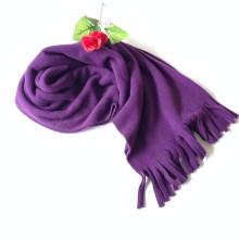 Vendez bien à bon marché Price Promotional Rose Windproof Polar Fleece Hooded Scarf Factory