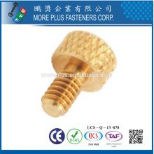Made in Taiwan Messing M4 Rändelkopf Diamond Thumb Schraube