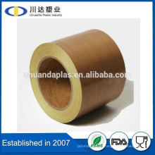 Hot Sale PTFE Coated fibra de vidro PTFE fita adesiva para Pulses máquina de embalagem