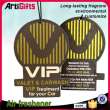 Promotional products absorbing air freshener paper for car