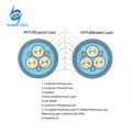 0.66 / 1.14KV cabo de isolamento de triagem semi-condutor de triagem de cabo flexível trançado cabo de elastômero (borracha) isolado