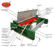 Fábrica de alta calidad que produce la máquina de goma de la pavimentadora de la pista corriente