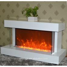 Cheminée électrique à haute efficacité standard de bonne qualité à domicile avec cheminée