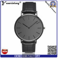 High Quality Interchangeable Hands Customized Personalized Black Face Matte Dial Wrist Watch