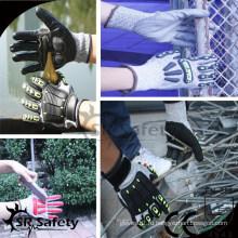 SRSAFETY противоударные перчатки механические перчатки ударные перчатки с защитой TPR