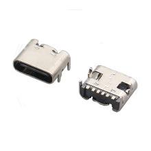 Receptáculo USB 3.1 TIPO C TPC6P SMT L6.8