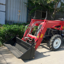 Traktor Pertanian 60hp 4wd dengan Front end Loader