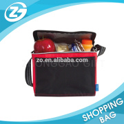 high quality custom nylon 600D 420D 210D insulated cooler bag for frozen food Promotional cheap lunch bag