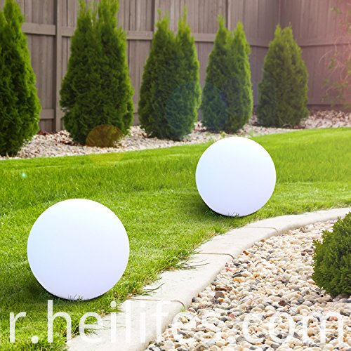 Solar waterproof LED Ball night light