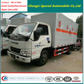 Right Hand Drive 5tons Hydraulic Tail Light Van Box Truck