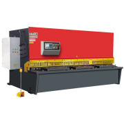 Hydraulic Swing Beam Metal Cutting Shear Machine , 6*4000 / 6*6000