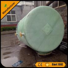 réservoir ou récipient de stockage de l'acide sulfurique H2SO4 en fibre de verre