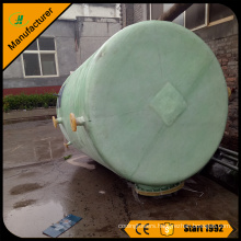 fiberglass sulfuric acid H2SO4 storage tank or vessel