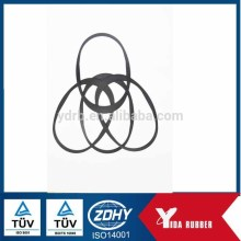 OEM Manufacture rubber sealing gasket/Silicone washer, food grade silicone gaskets