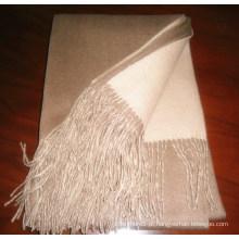 Cobertor quente liso da caxemira Anti-Pilling