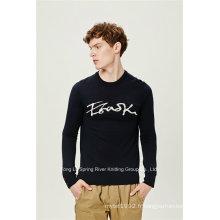 Pull en laine acrylique Pull en tricot pour homme