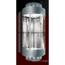 Ascenseur panoramique élégant et élégant pour passagers (JQ-A008)