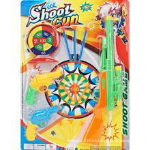 Sport Dart Board Soft Bullet Toy Gun