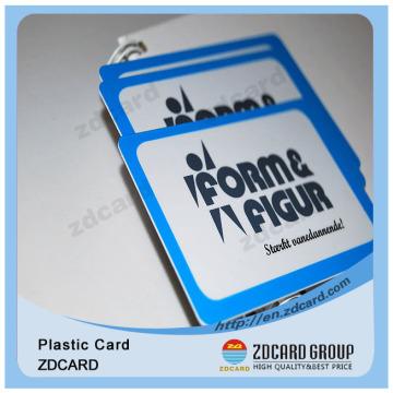 ISO 9001 Plastique en PVC ABS Matériau pour animaux Metro Card