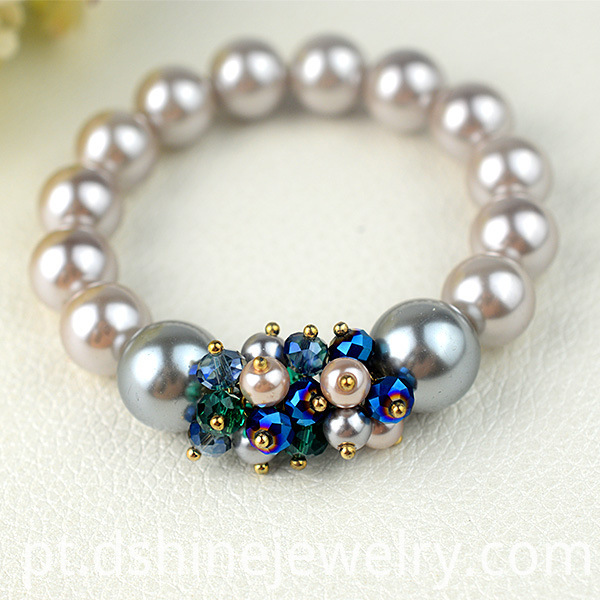 Stretch Crystal Bead Bracelets