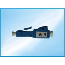 Atenuador da fibra óptica do único modo do LC Upc